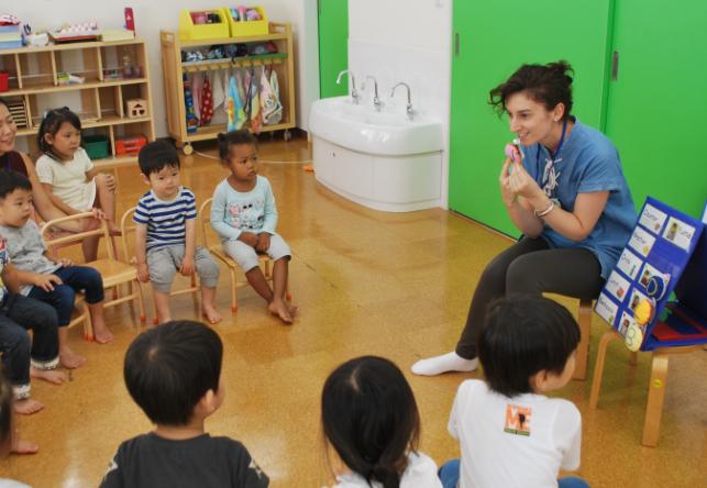 Preschool クラスアシスタント募集